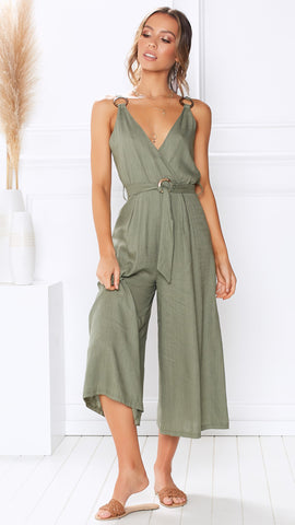 Freedom Jumpsuit - Khaki