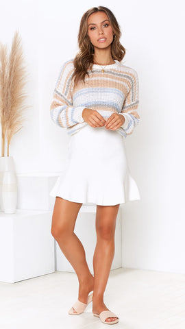Date Night Knit - Stripes