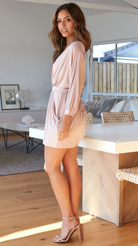 Darcey Dress - Blush