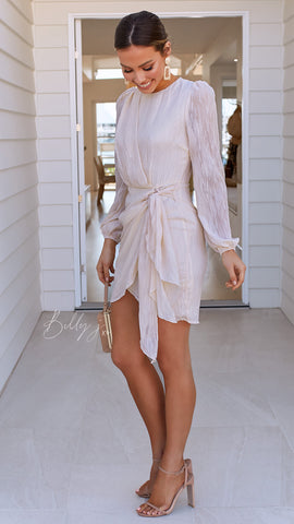 Only Love Dress - Nude