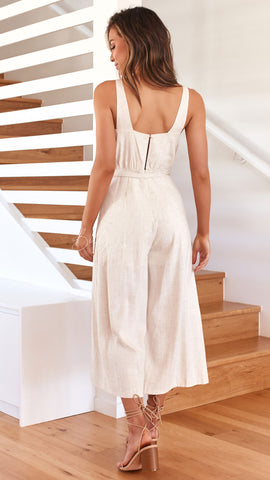 Freedom Jumpsuit - Natural