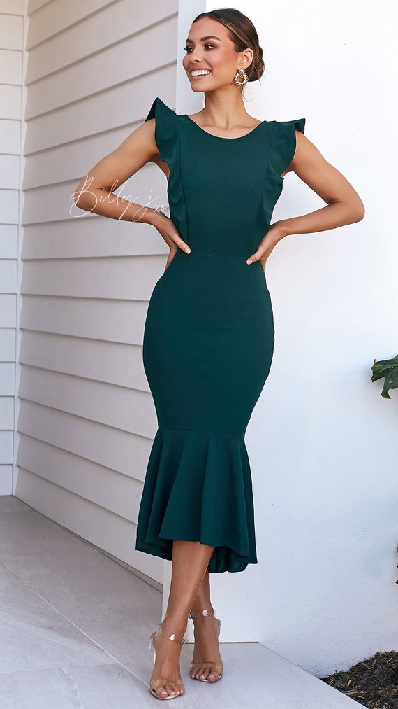 Nikki Dress - Emerald