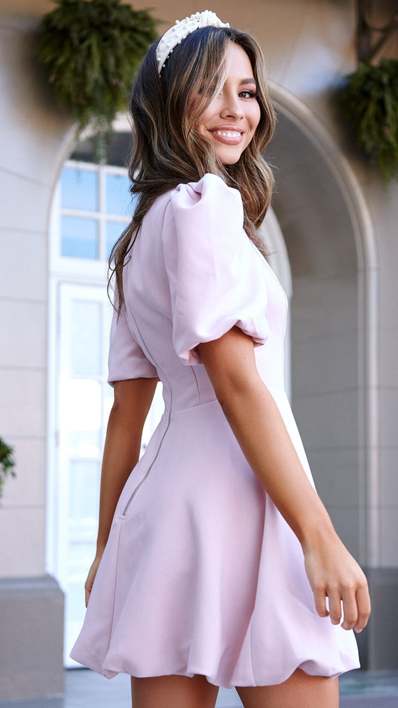 Louisa Dress - Pink