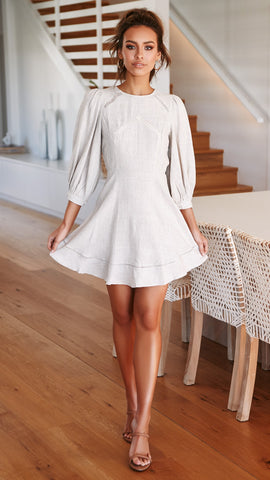 Kelsey Dress - Natural