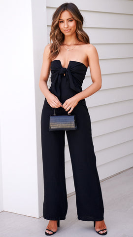 Villa Jumpsuit - Black