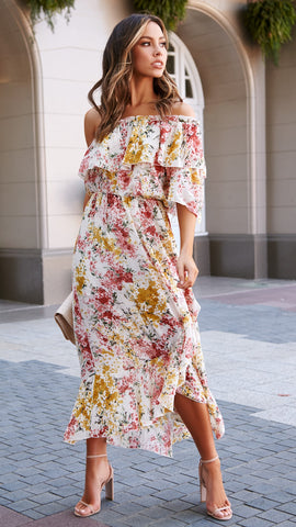 Afternoon Sun Dress - Floral
