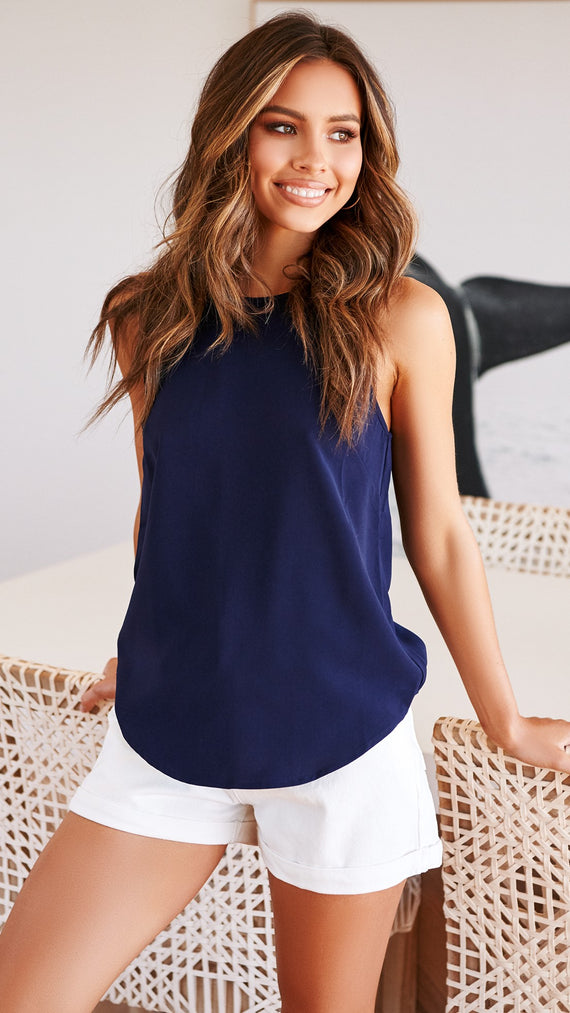 Eagle Top - Navy