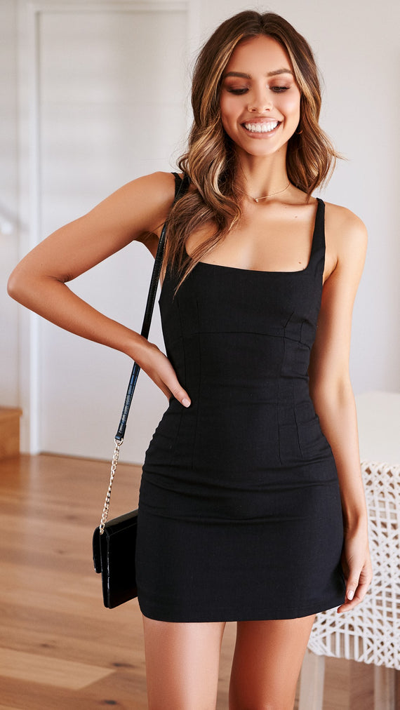 Honey Pot Dress - Black