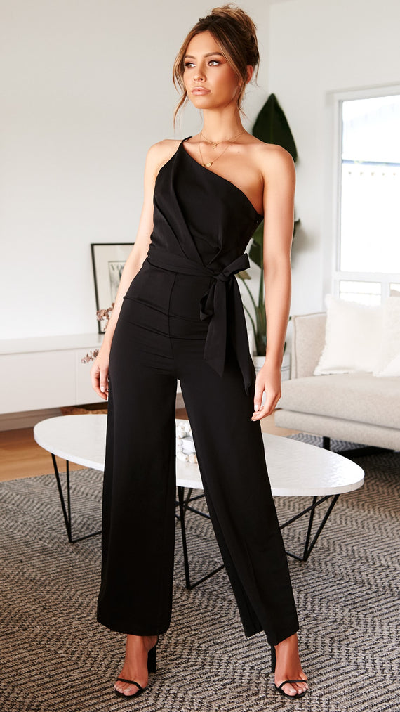 Soar Jumpsuit - Black