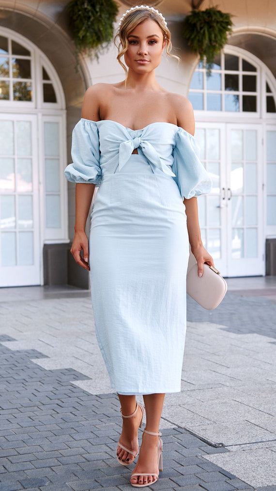Amy Dress - Baby Blue