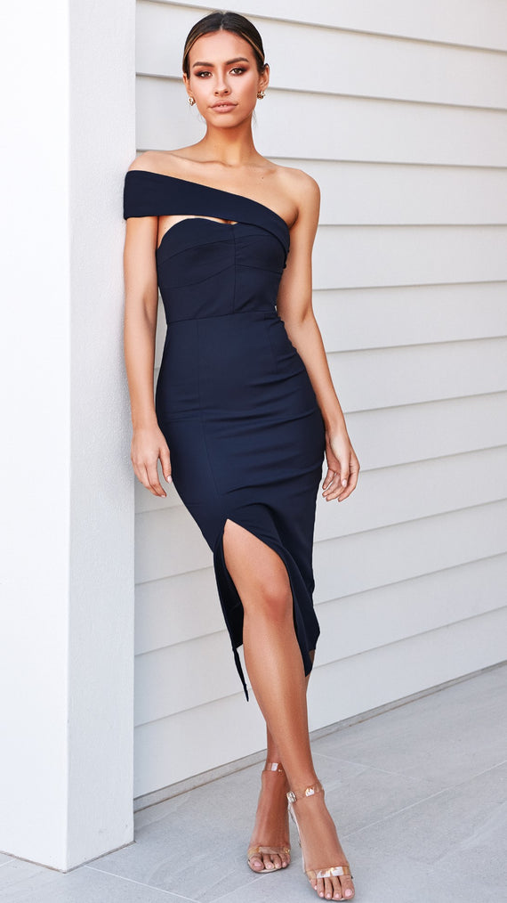 Demi Dress - Navy