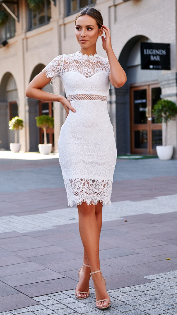 Juliette Dress - White