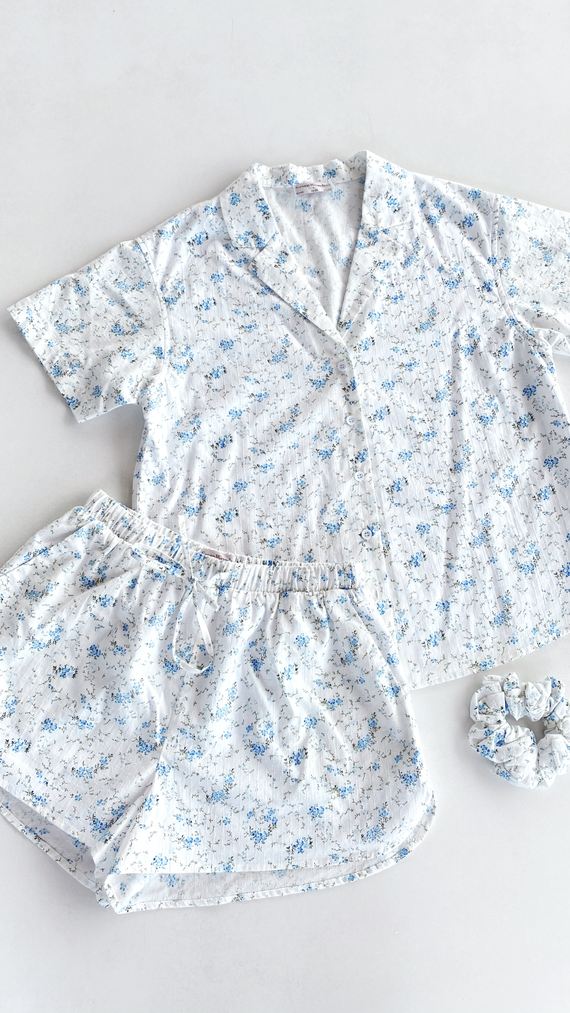 Misha PJ Set - Blue Floral