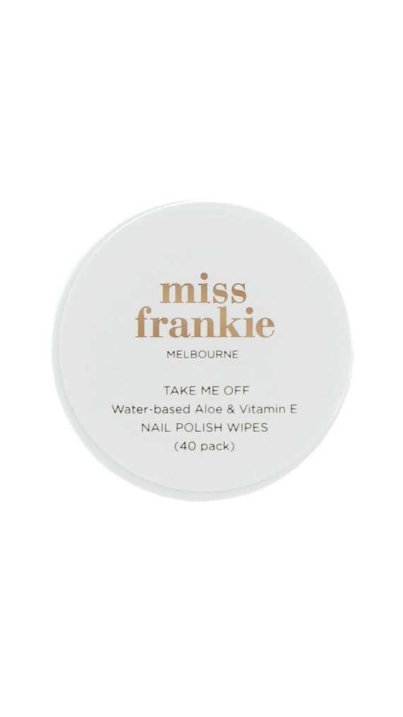 Miss Frankie Take Me Off - Nail Polish Wipes