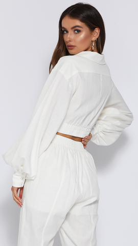 Zimmy Top - White