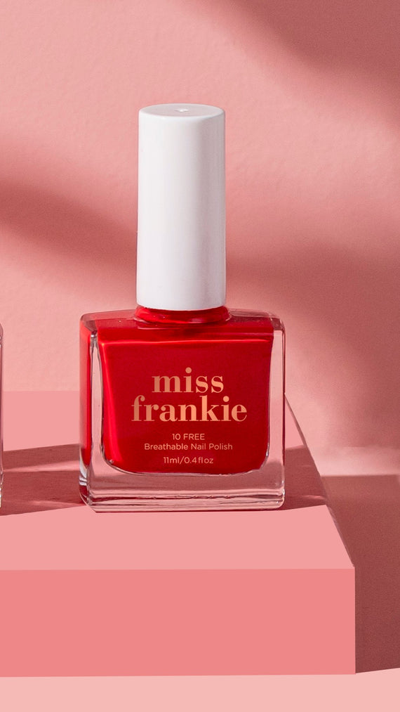 Miss Frankie Nail Polish - Send Hearts Racing