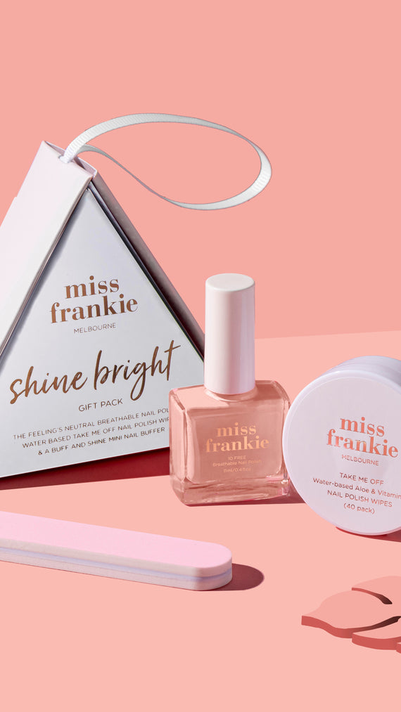 Miss Frankie Shine Bright Gift Pack - The Feeling's Neutral