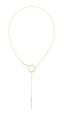 AGGY NECKLACE - GOLD / ROSE GOLD / SILVER