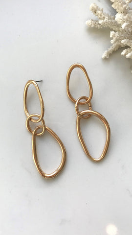 Kendall Earrings - Gold