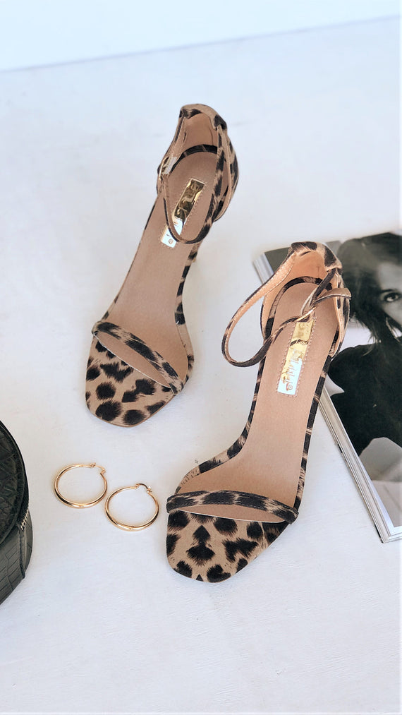 Andi Heel - Light Leopard