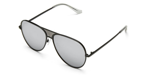 Quay - Iconic - Sunglasses - Black/Silver