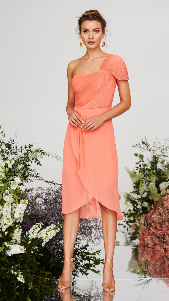 Saffron One Shoulder Dress- Cooper St