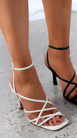 Scout Heels - Off White