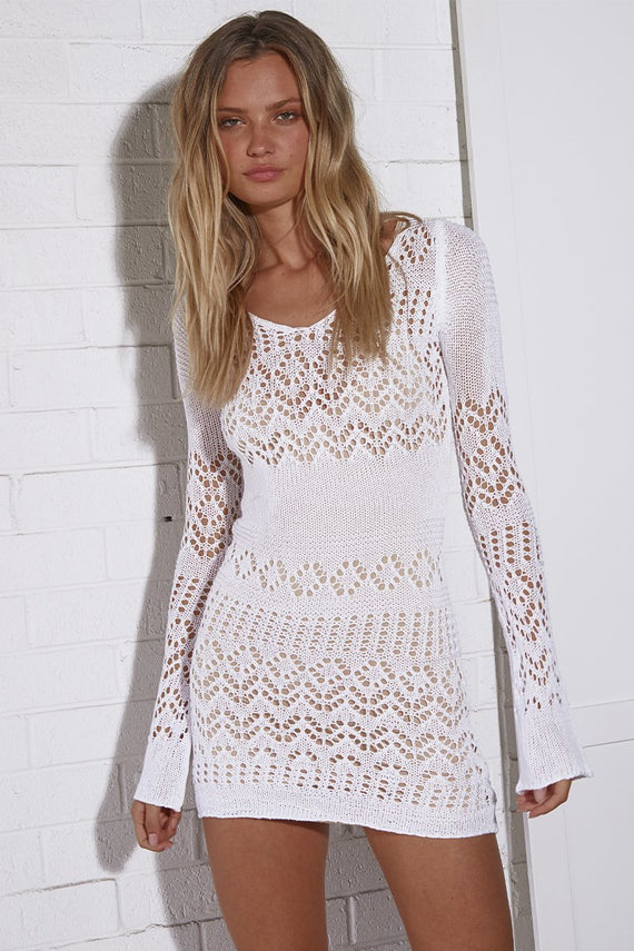 Shona Mini Dress - White