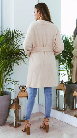 Stevie Knit Cardi - Cream