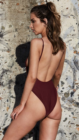 Bo Derek One Piece - Wine