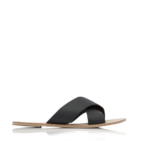 MAJORCA BLACK PEBBLE SLIDES