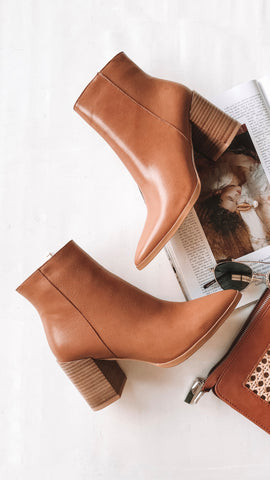 Acler Boots - Tan
