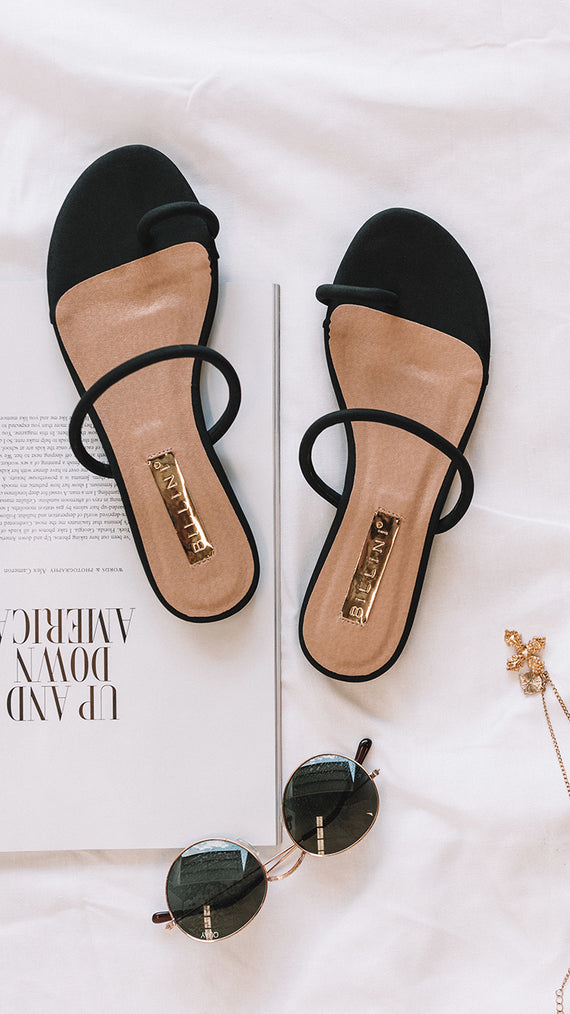 Dacia Sandals - Black Nubuck