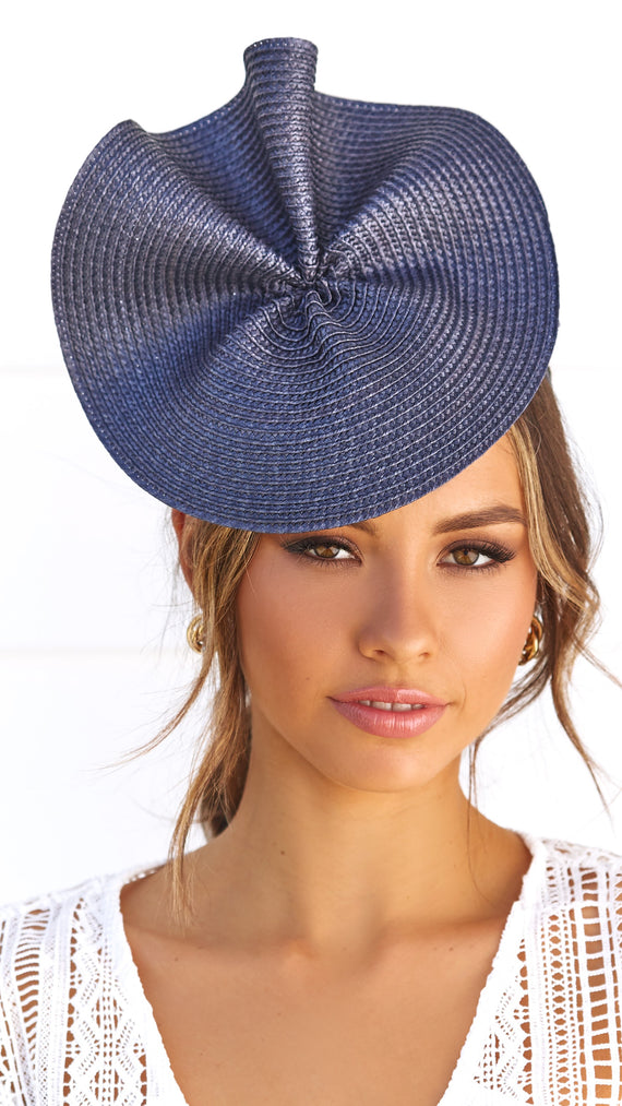 ZARIA FASCINATOR - Navy