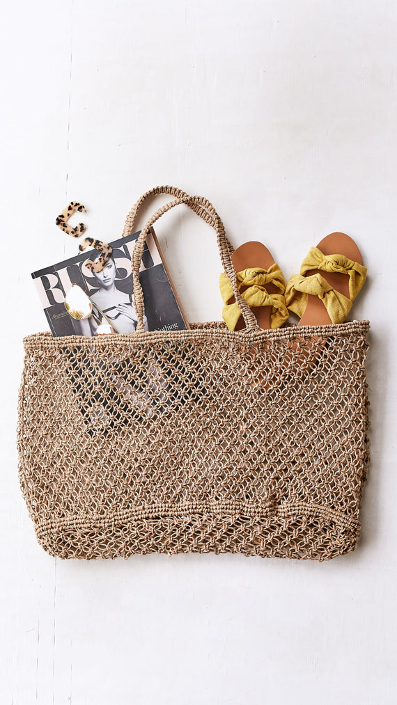 Fishermans Weave Market Tote