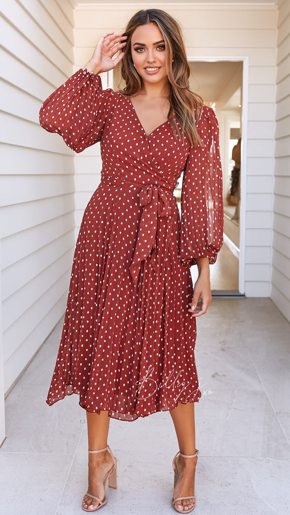 Slow Dance Wrap Dress