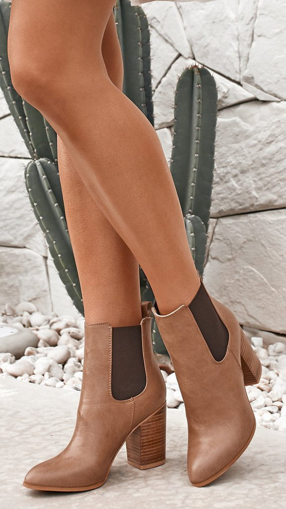 Jaida Boot - Mocha Burnished