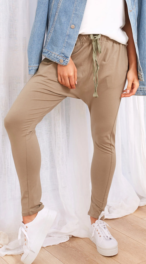 May Pants - Khaki