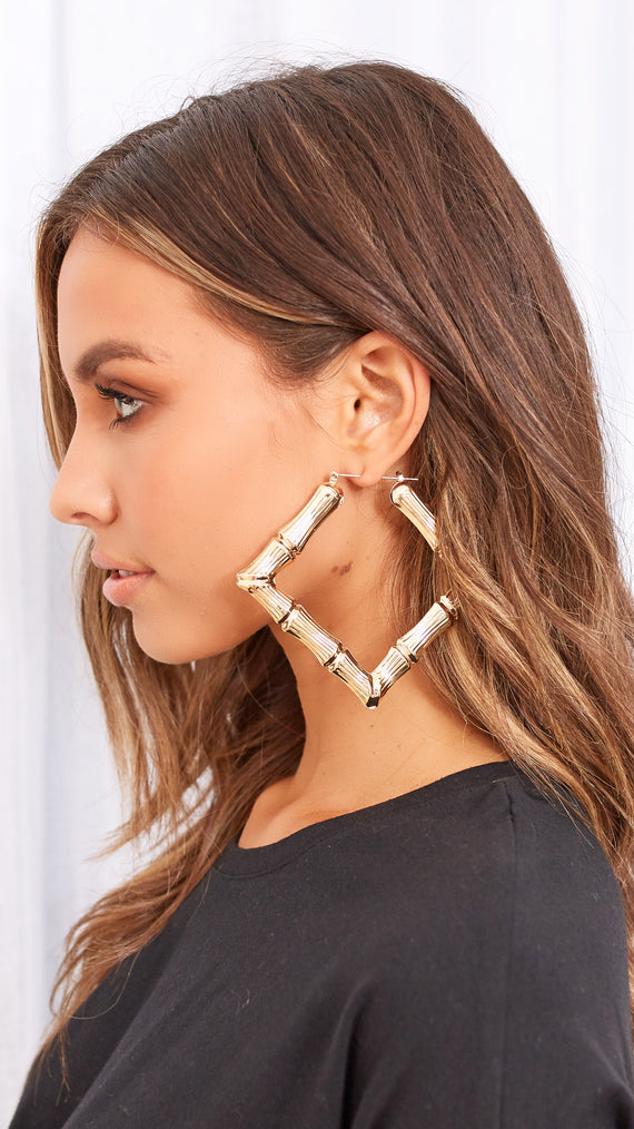 Jordyn Earrings - Gold
