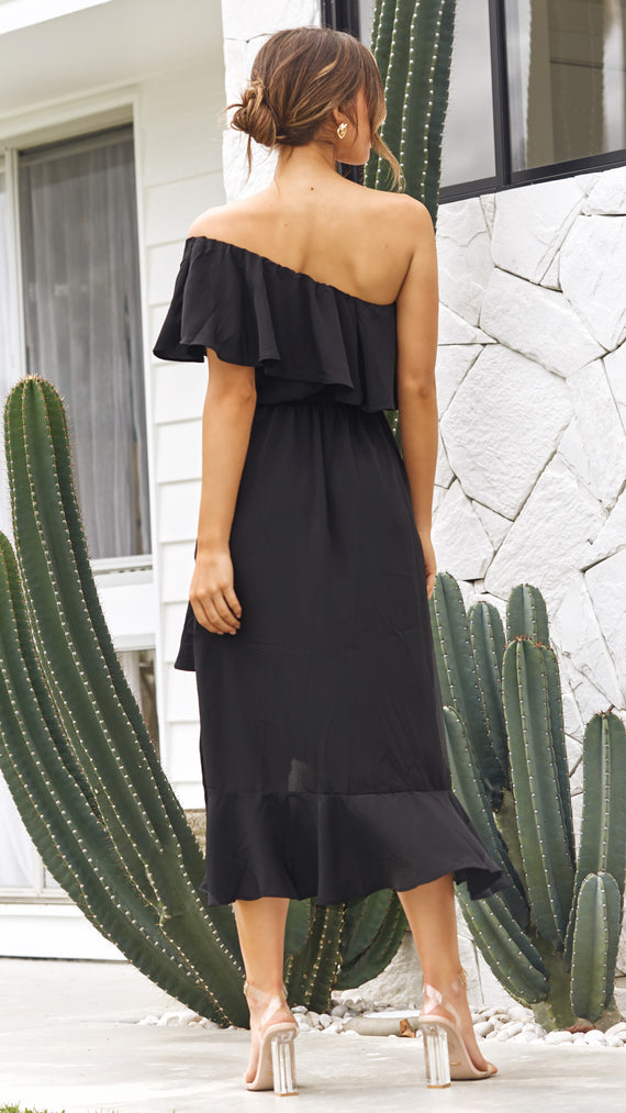 Aisha Dress - Black