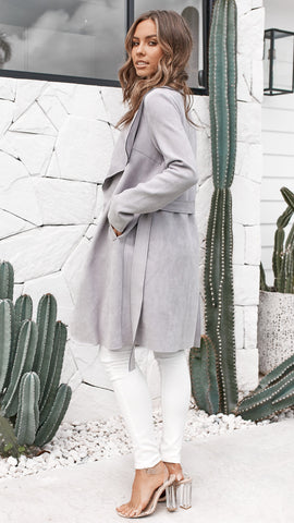 Kinsley Coat - Grey