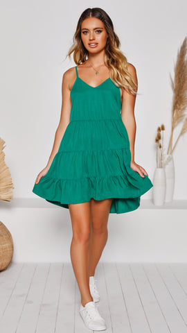 Bondi Dress - Green