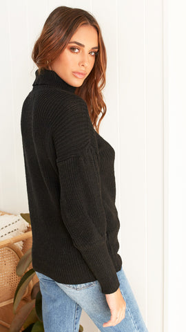 Surrey Knit - Black