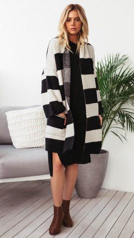 Fortune Knit Cardigan - Black