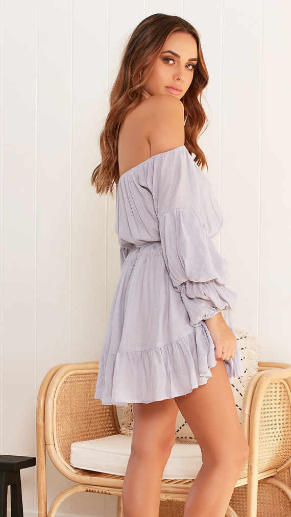 Alma Dress - Grey