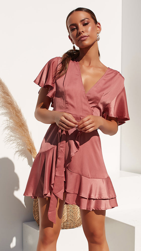 Arlington Dress  - Rose