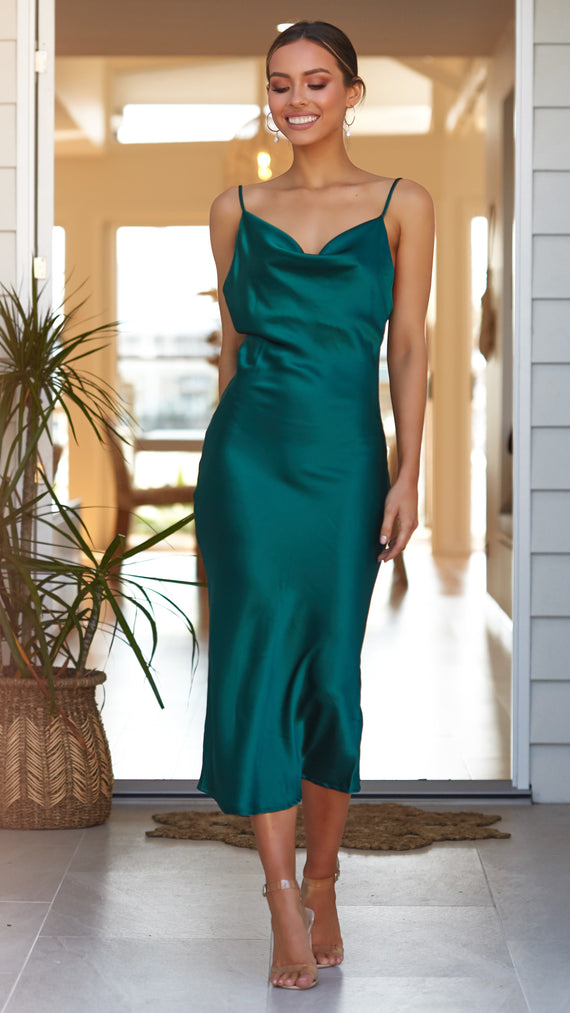Jewels Dress - Emerald