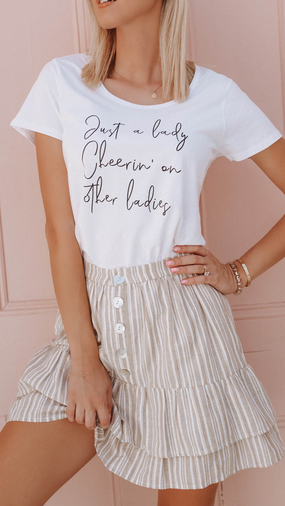 Just a Lady Tee