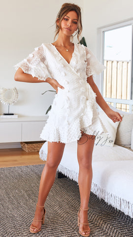 Donatella Dress - White