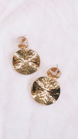 Jasmine Earrings - Gold